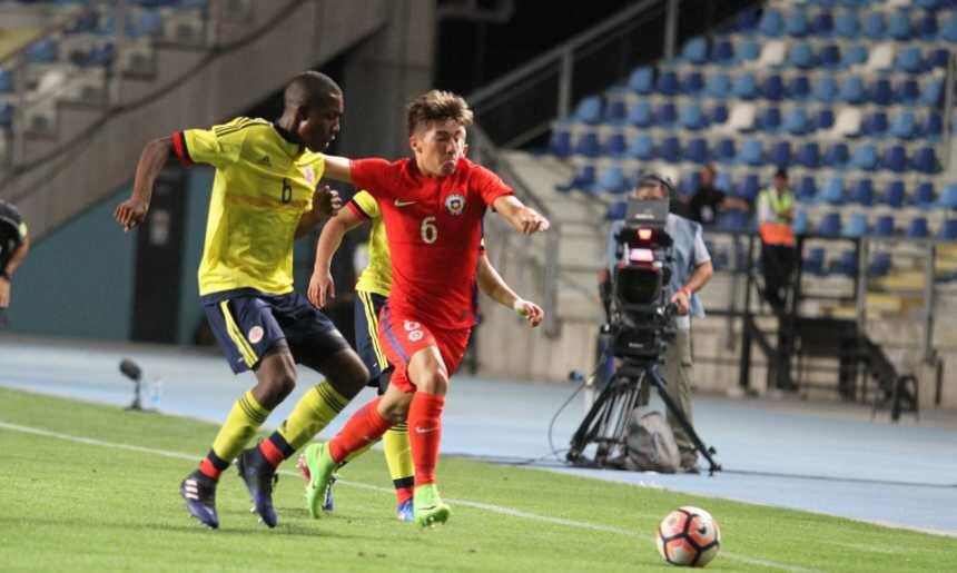 El local Chile Sub-17 le empató a Colombia