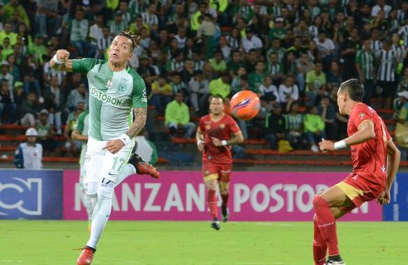 Nacional 3-Rionegro 0.  EL TALENTO SUPERÓ AL ESFUERZO.  (Wbeimar  Muñoz)