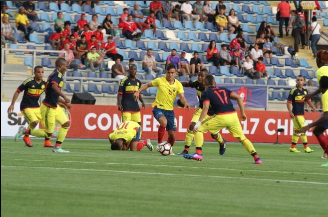 Colombia Sub-17 remontó y venció con autoridad.. Chile ganó…