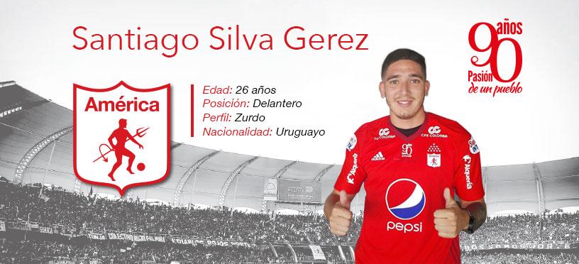 Santiago Silva: Otra cara nueva de Liga