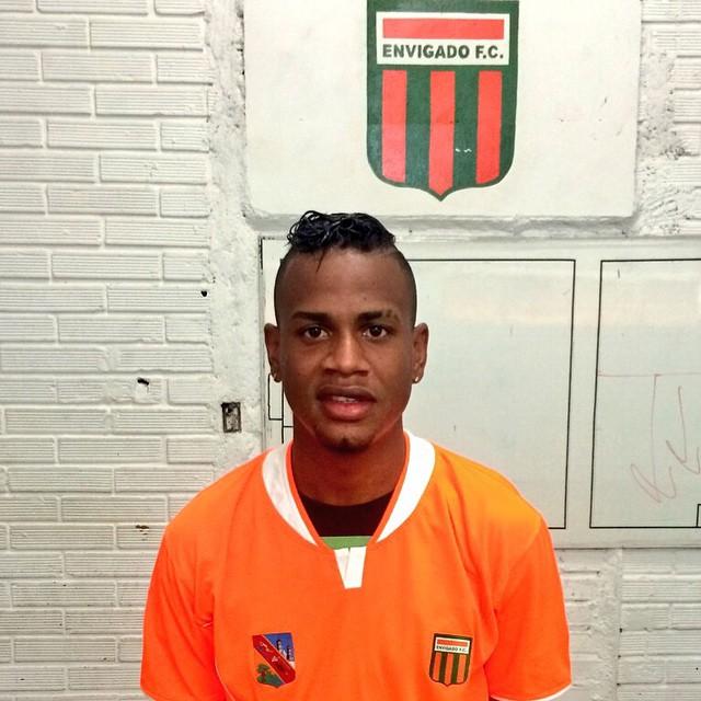 Jerry Ortiz, nueva cara del Envigado, volante, 22 años, procedente de Cortuluá. Ya jugó en el amistoso del lunes contra Guaraní. Foto tomada del portal del Envigado F.C.