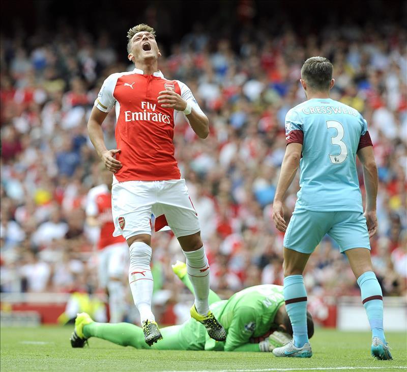 Arsenal, Sin Ospina, Cayó En Casa