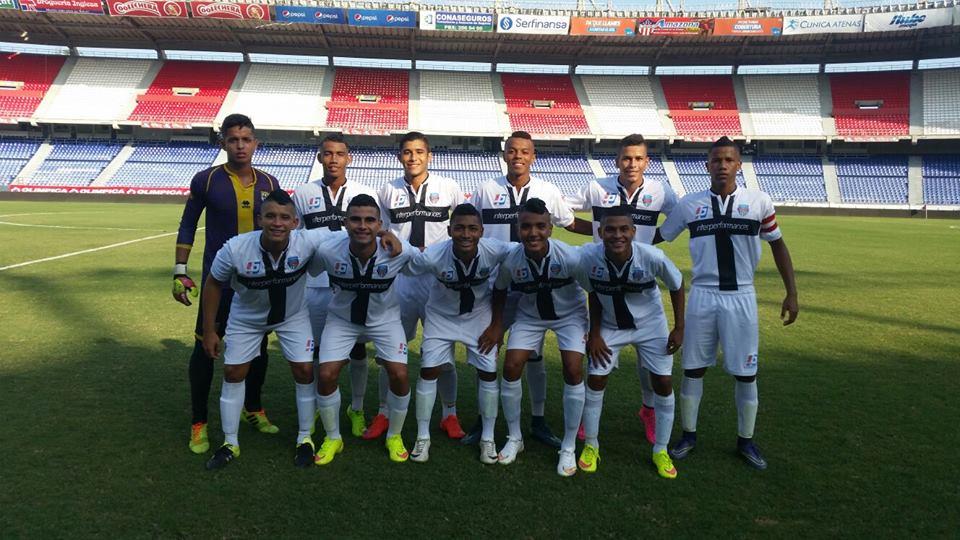 Con dos goles en los primeros 20 minutos de parte de Aldair Gutierrez y José Martinez, la Sub-17 de Parma ganó el partido de ida de la Gran Final por 2 goles a 0 al Barranquilla FC. Foto tomada de la página web del Parma Football School Colombia