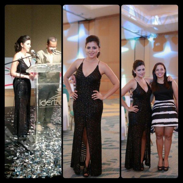 Sheyla Garcí estuvo en Cartagena en la ceremonia del Deportista del Año. Hasta el 25 de diciembre trabajpo con Win. Prepara maletas para vincularse a Espn en Buenos Aires.
