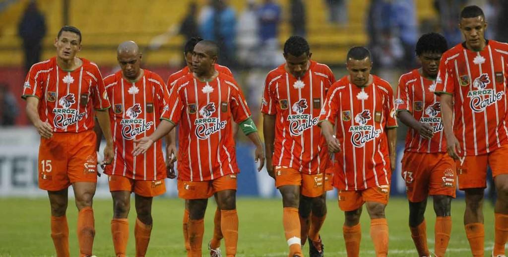Envigado fue fundado en 1989 y en 1991 ascendió a la primera división. Foto tomada de www.eltiempo.com