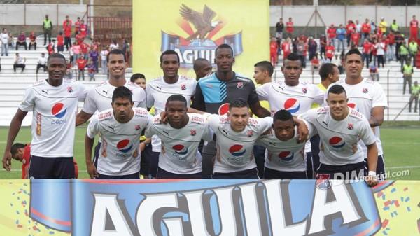 En el estadio Alberto Brisales, Rionegro cayó con el DIM 2x0 en la tercera fecha de la Copa Águila. Foto dimoficial