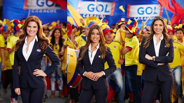 Las Damas Del Gol Caracol En La Copa America Centenario Marina Granziera