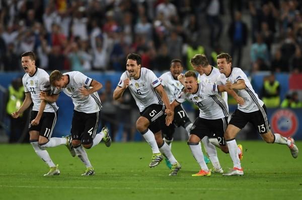 1-1 en tiempo reglamentario y prórroga. Alemania gana 6-5 en los penaltis). El combinado germano sigue sin ganar a Italia en los 90 minutos, pero selló el pase a semifinales. Foto tomada de la página UEFA-
