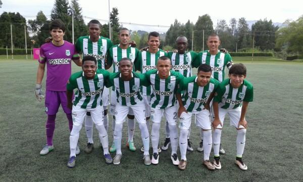 Atlético Nacional Sub-20 venció esta mañana (13) a La Tebaida 3x0. Foto Carlos Julio Serna / Cápsulas.