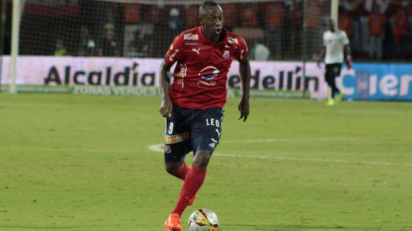En Juan Fernando Caicedo descansa todo el peso ofensivo del DIM. Hoy contra Jaguares. Foto DIM_oficial