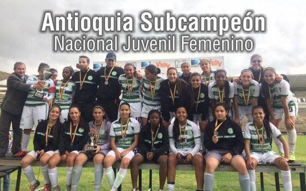 Antioquia perdió con Bogotá y Valle y al final alcanzó el subcampeonato. Foto Comunicaciones Liga Antioqueña.