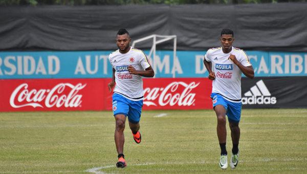 Borja y Berrío en el sonajero del fútbol internacional. Foto Colfutbol.