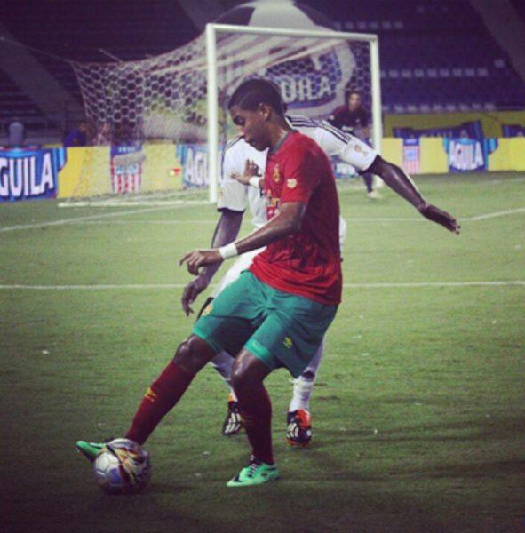 Gabriel Fuentes, aporte samario y del equipo Barranquilla FC de ascenso a la Sub-20 de Colombia.