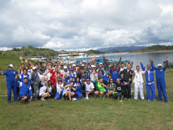 GUATAPÉ (Antioquia). Juegos Nacionales de Control Fiscal, de integración para 45 dependencias nacionales. Foto Acord Antioquia.