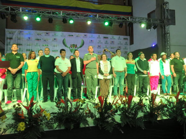 GUATAPÉ (Antioquia). Clausura de los X Juegos Nacionales Empleados de Control Fiscal. Foto Acord Antioquia.