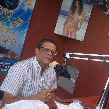 César Augusto Corbacho con RCN en 2017.