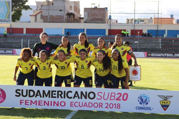 Colombia Sub 20: Colombia Sub 20 Femenina: 9x0 A Perú